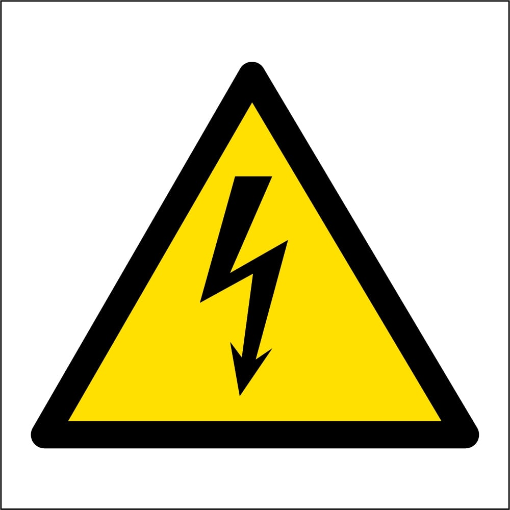 ... Signs › Electrical Safety Signs › Electrical Hazard Safety Signs