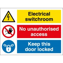 Electrical Switchroom Signs