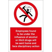 Employee Disciplinary Safety Signs