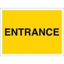 Entrance Car Park Signs