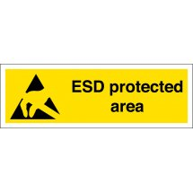 ESD Protected Area Signs