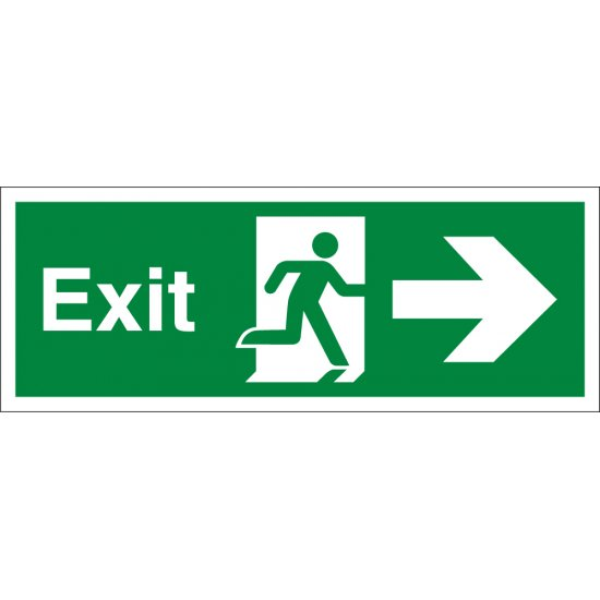 Exit Arrow Right Signs