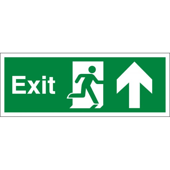 Exit Arrow Up Signs