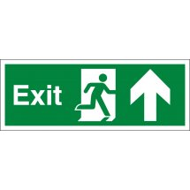 Exit Arrow Up Signs