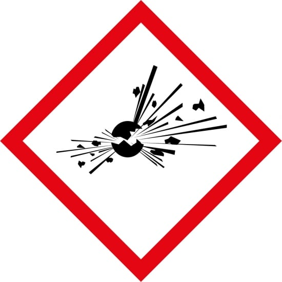 Explosives GHS Labels