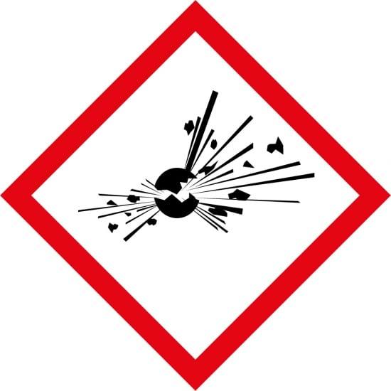 Explosives GHS Labels