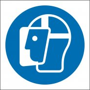 Face Shield Safety Signs