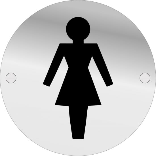 Female Toilet Door Signs