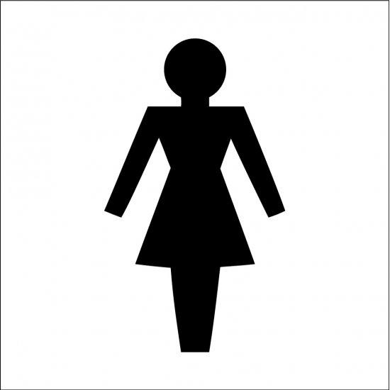 Female Toilet Symbol Signs