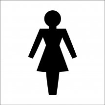 Female Toilet Symbol Signs