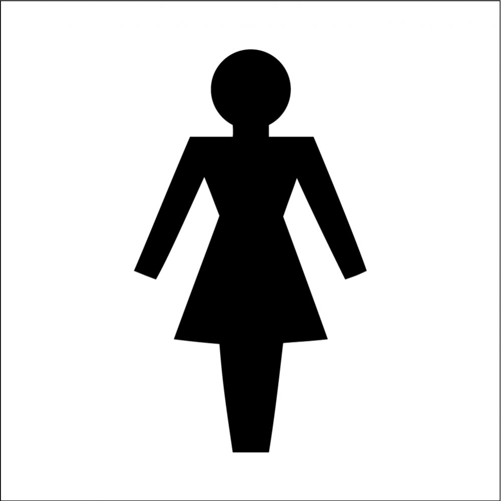 bathroom sign with arrow. Female Toilet Symbol Signs Bathroom Sign With Arrow R