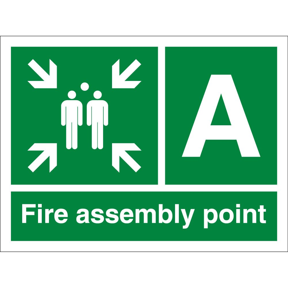 Fire Assembly Point A Signs From Key Signs Uk