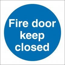Fire Door Keep Closed Signs