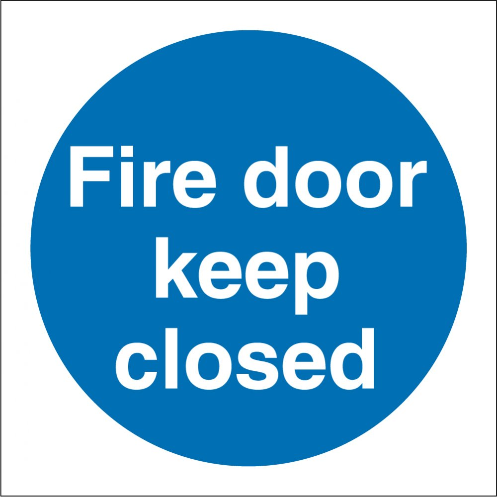 Fire Door Keep Closed Signs From Key Signs Uk