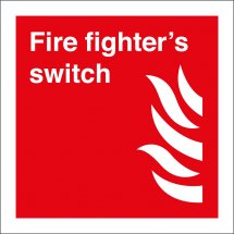 Fire Fighters Switch Signs