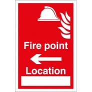 Fire Point Arrow Left Signs