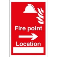 Fire Point Arrow Right Signs