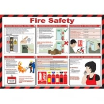 Fire Safety Posters 590mm x 420mm