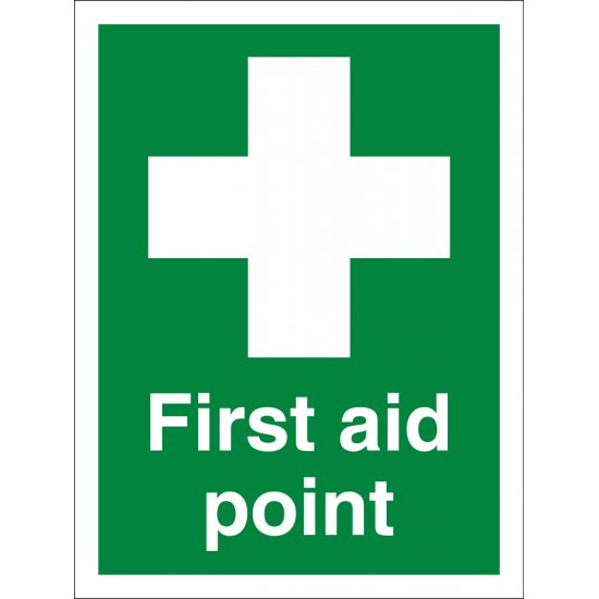 First Aid Point Signs