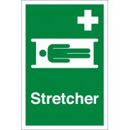 First Aid Stretcher Signs