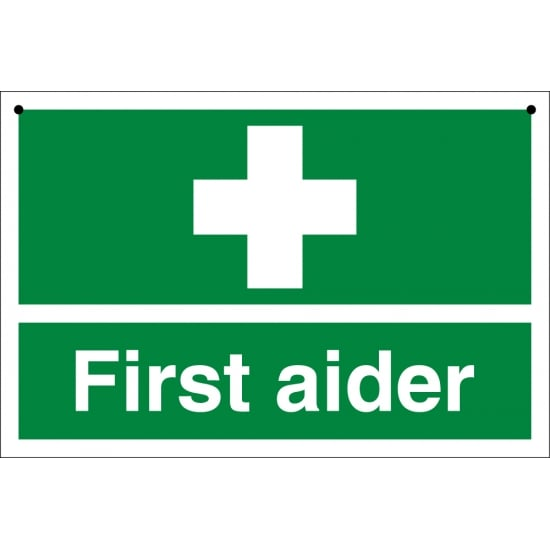 First Aider Double Sided Signs
