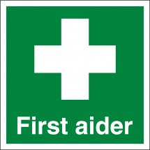 First Aider Labels