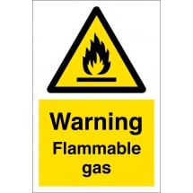 Flammable Gas Signs