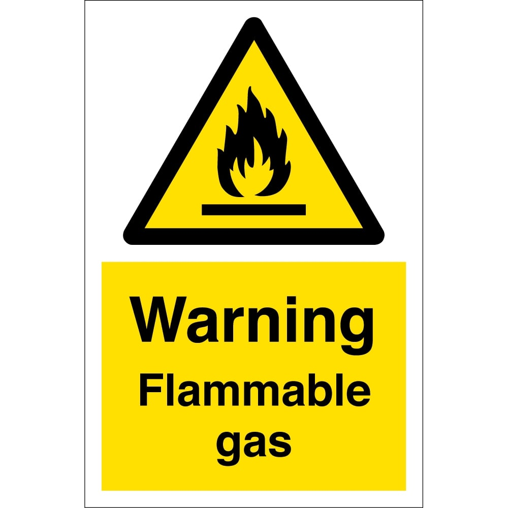 Flammable gas signs from key signs uk flammable gas signs buycottarizona