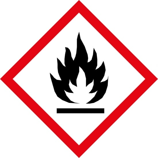 Flammable GHS Labels