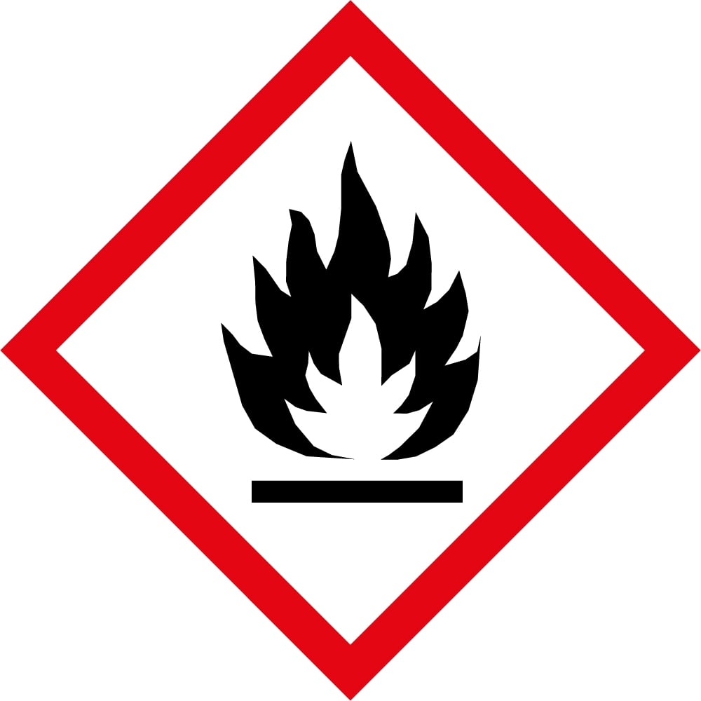 Flammable Ghs Labels From Key Signs Uk