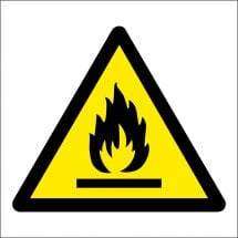 Flammable Warning Safety Signs