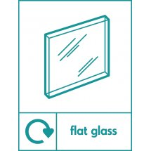 Flat Glass Recycling Signs