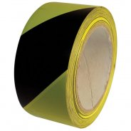 Floor Marking Tape 50mm x 33m Black and Yellow