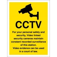 For Your Personal Safety And Security Signs
