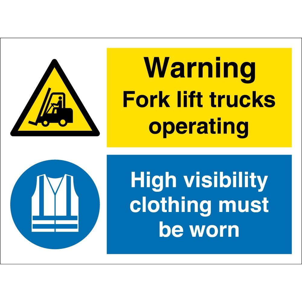 Fork lift trucks operating wear high visibility clothing signs fork lift trucks operating wear high visibility clothing signs biocorpaavc