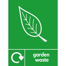 Garden Waste Recycling Signs