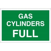 Gas Cylinders Full Signs