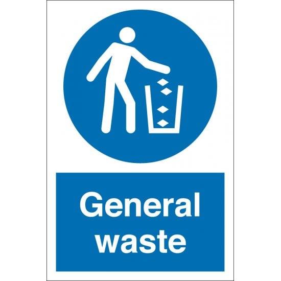 General Waste Signs