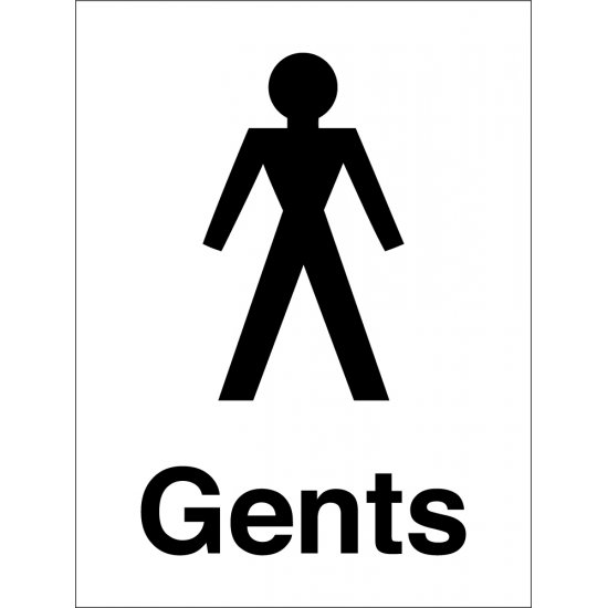 Gents Toilet Signs