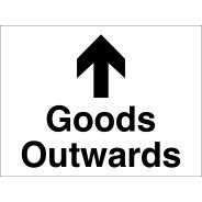 Goods Outwards Arrow Up Signs