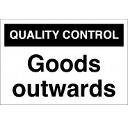 Goods Outwards Signs
