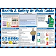 Health And Safety At Work Guide Posters 590mm x 420mm