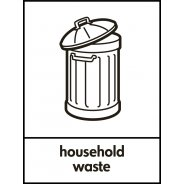 Household Waste Recycling Signs