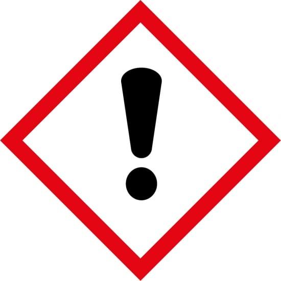 Irritant GHS Labels