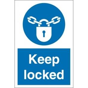 Keep Locked Signs