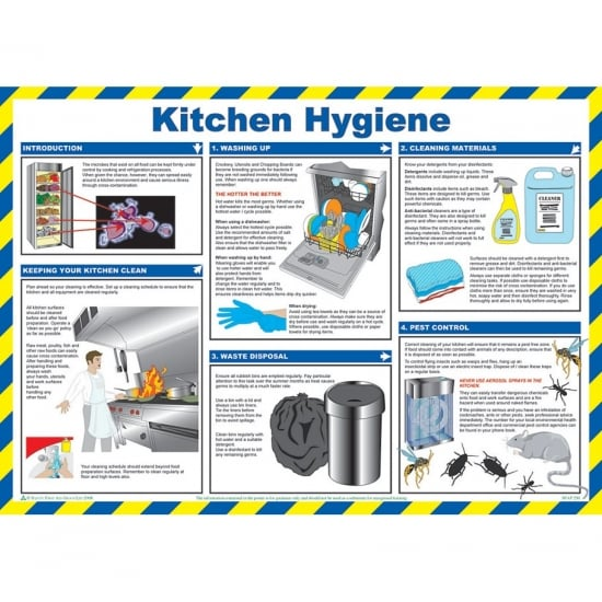 Kitchen Hygiene Posters 590mm x 420mm