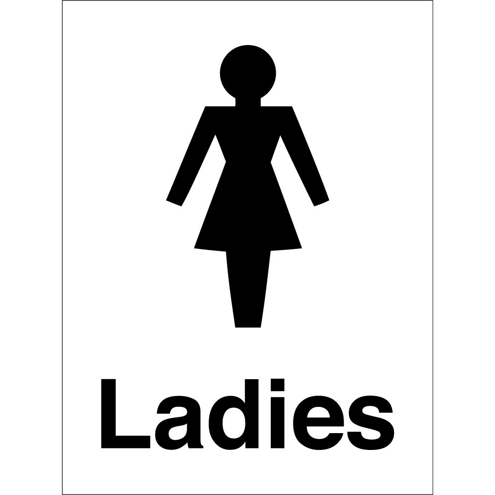 Bathroom Key Sign ladies bathroom sign | ira design