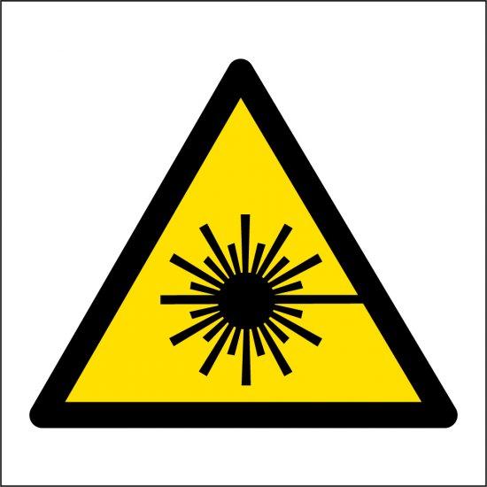 Laser Beam Warning Signs