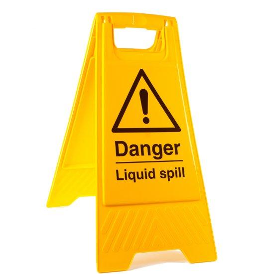 Liquid Spill Floor Stands