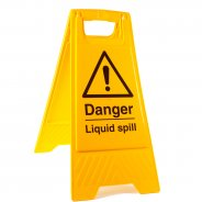 Liquid Spill Floor Stands